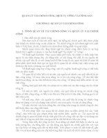 Ôn thi công chức thuế: Quản lý nhà nước về tài chính công
