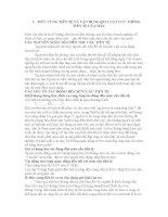 MỨC CUNG TIỀN TỆ VÀ VẬN DỤNG QUI LUẬT LƯU THÔNG TIỀN TỆ CỦA MAC pdf