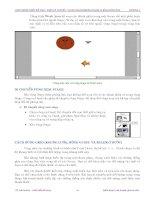 Quá trình hình thành tổng quan kiến thức về cách tạo chuyển động và hiệu ứng trong quy trình thiết kế p9 docx