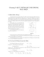 Giáo trình -Ngắt mạch trong hệ thống điện -chương 5 pps