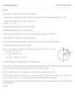 Đề thi thử vật lý : Bài giải-đề số 02 pptx