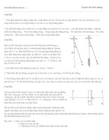 Đề thi thử vật lý : đề số 10 pps