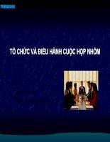 Ky nang dieu hanh cuoc hop doc