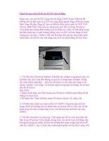 Tổng hợp những kinh nghiệm và cách bảo vệ Laptop phần 4 pot