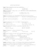 Bài tập toán lớp 10 doc