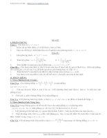 Tổng hợp 100 đề thi thử tốt nghiệp THPT phần 3 pps