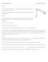 Đề thi thử vật lý : đề số 07 pptx