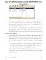 Quá trình hình thành giáo trình mô hình hóa hoạt động kinh doanh phân công công việc và quyền hạn trong phòng kế toán p1 ppsx