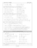 Tài liệu ôn toán - Bài tập giải tích lớp 12 - phần 8 potx