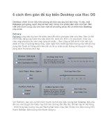 6 cách đơn giản để tùy biến Desktop của Mac OS pps