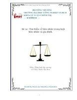 Tiểu luận: Tìm hiểu về hôn nhân trong luật hôn nhân và gia đình ppsx