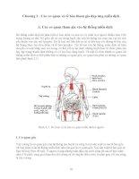 Giáo trình - Miễn dịch học động vật thủy sản - chương 2 ppt