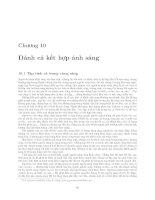 Giáo trình -Kỹ thuật khai thác thủy sản- chương 10 ppt