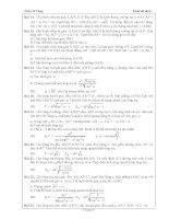 Tài liệu ôn toán - Bài tập hình học lớp 12 - phần 2 ppsx
