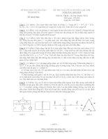 Đề thi tuyển sinh THPT môn vật lý trường Lam Sơn pdf