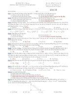 Trường THPT chuyên Huỳnh Mẫn Đạt - đề thi vật lý 10 chuyên (đề số 181) doc