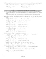 Tài liệu ôn toán - Bài tập hình học lớp 12 - phần 6 pdf