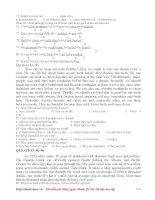 Bộ 24 đề luyện thi ĐH môn tiếng anh - phần 12 ppt