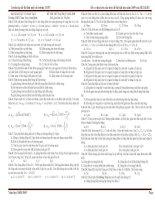 Tuyển tập đề thi thử môn Vật lý một số trường THPT pot