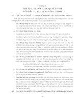 Giáo trình -Định giá sản phẩm xây dựng cơ bản - chương 6 ppt