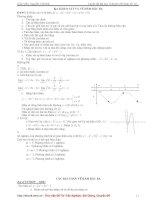 Tài liệu ôn toán - Chuyên đề hàm số - phần 2 pps