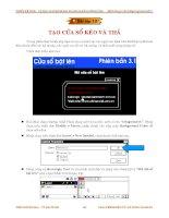 Quá trình hình thành giáo trình hướng dẫn ghép ảnh và phương pháp sử dụng ảnh nhập vào p9 ppsx