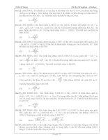 Tài liệu ôn toán - Bài tập hình học lớp 12 - phần 9 docx