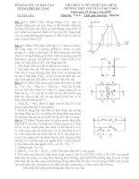 Đề thi tuyển sinh THPT môn vật lý trường Lê Quý Đôn ppt