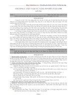 Tổng hợp câu hỏi và đáp án ôn thi tốt nghiệp môn lịch sử năm 2010 - phần 1 pot
