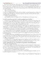 Đề cương ôn tập ngữ văn lớp 12 trường thpt Bắc Yên Thành - phần 2 potx
