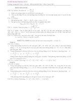 Đề thi thử Đại học 2011 môn toán - THPT Lương Thế Vinh potx