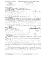 Đề thi tuyển sinh THPT môn vật lý tỉnh HÀ Nam pdf