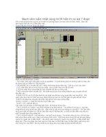 Mạch cảm biến nhiệt dùng lm35 hiển thị ra led 7 đoạn ppsx
