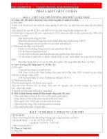 Đề cương kiến thức trọng tâm ôn thi môn Địa lí năm 2010 - phần 1 pdf