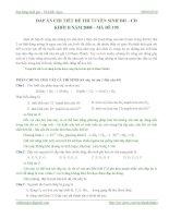 Hóa học thpt - Lời giải chi tiết đề thi ĐH năm 2008 khối B pps