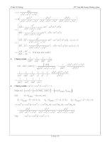 Tài liệu ôn toán - Bài tập hình học lớp 12 - phần 7 pdf