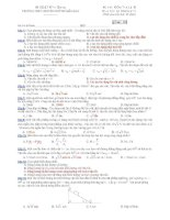 Trường THPT chuyên Huỳnh Mẫn Đạt - đề thi vật lý 10 chuyên (đề số181) pps