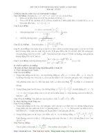 Đề thi - Lời giải chi tiết môn Toán khối A năm 2010 - 2 docx