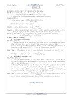 Đề thi thử Đại học năm 2011 của Trần Sỹ Tùng ( Có đáp án) - Đề số 12 pot