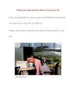 Những cách giúp bạn luôn tỉnh táo trong công việc pdf