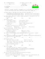 đề thi thử môn hóa trường ngô gia tự potx