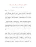 Tâm lí đám đông và Phân tích cái Tôi - 8 pdf