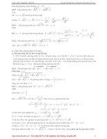 Tài liệu ôn toán - Chuyên đề hàm số - phần 3 potx