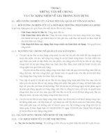 Giáo trình -Định giá sản phẩm xây dựng cơ bản - chương 1 pot