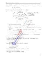 Quá trình hình thành giáo trình chuyên ngành điện tử viễn thông - mạng điện thoại tiếng anh chuyên ngành p2 pps