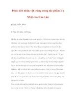 Phân tích nhân vật tràng trong tác phẩm Vợ Nhặt của Kim Lân doc