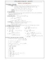 Tổng hợp kiến thức toán lớp 9