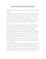 phong tục việt nam - Nam nữ thụ thụ bất thân là gì pdf