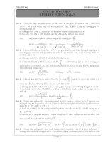 Tài liệu ôn toán - Bài tập hình học lớp 12 - phần 3 pdf