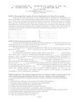 ĐỀ THI CHỌN HỌC SINH GIỎI CẤP TRƯỜNG LỚP 12 THPT (2009 – 2010) MÔN TIẾNG ANH pdf